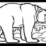 Bear 01 Coloring Page