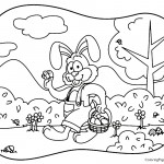 Easter 04 Coloring Page