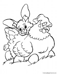 Easter 09 Coloring Page