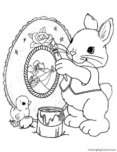 Easter 10 Coloring Page