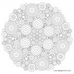 Mandala - Circle 05 Coloring Page