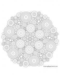 Mandala – Circle 05 Coloring Page