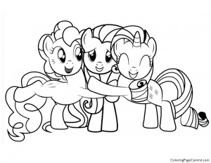 My Little Pony – Friendship is Magic 02 Coloring Page