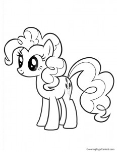 My Little Pony – Pinkie Pie 02 Coloring Page