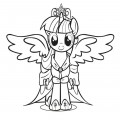 My Little Pony - Princess Twilight Sparkle 01 Coloring Page