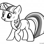 My Little Pony - Twilight Sparkle 02 Coloring Page