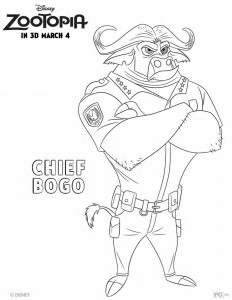 Zootopia –  Chief Bogo
