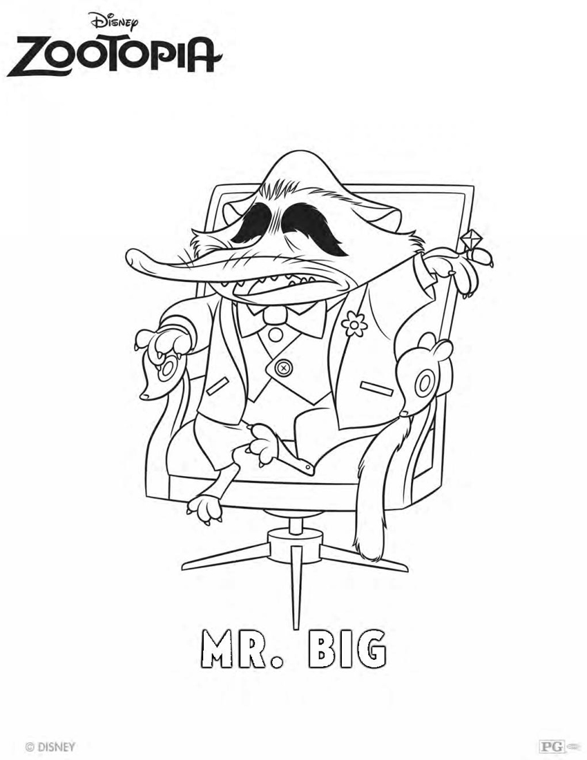 Zootopia - Mr Big