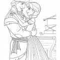 Frozen 03 Coloring Page