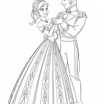Frozen 04 Coloring Page