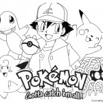 Pokemon Coloring Page 01
