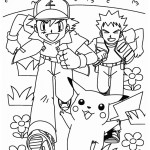 Pokemon Coloring Page 02