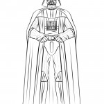 Star Wars - Darth Vader 01 Coloring Page