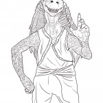 Star Wars - Jar Jar Binks Coloring Page