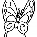 Butterfly 01 Coloring Page