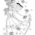 Disney Princesses 06 Coloring Page