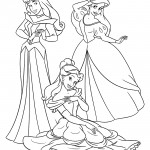 Disney Princesses 07 Coloring Page