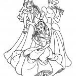 Disney Princesses 13 Coloring Page