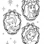Disney Princesses 14 Coloring Page