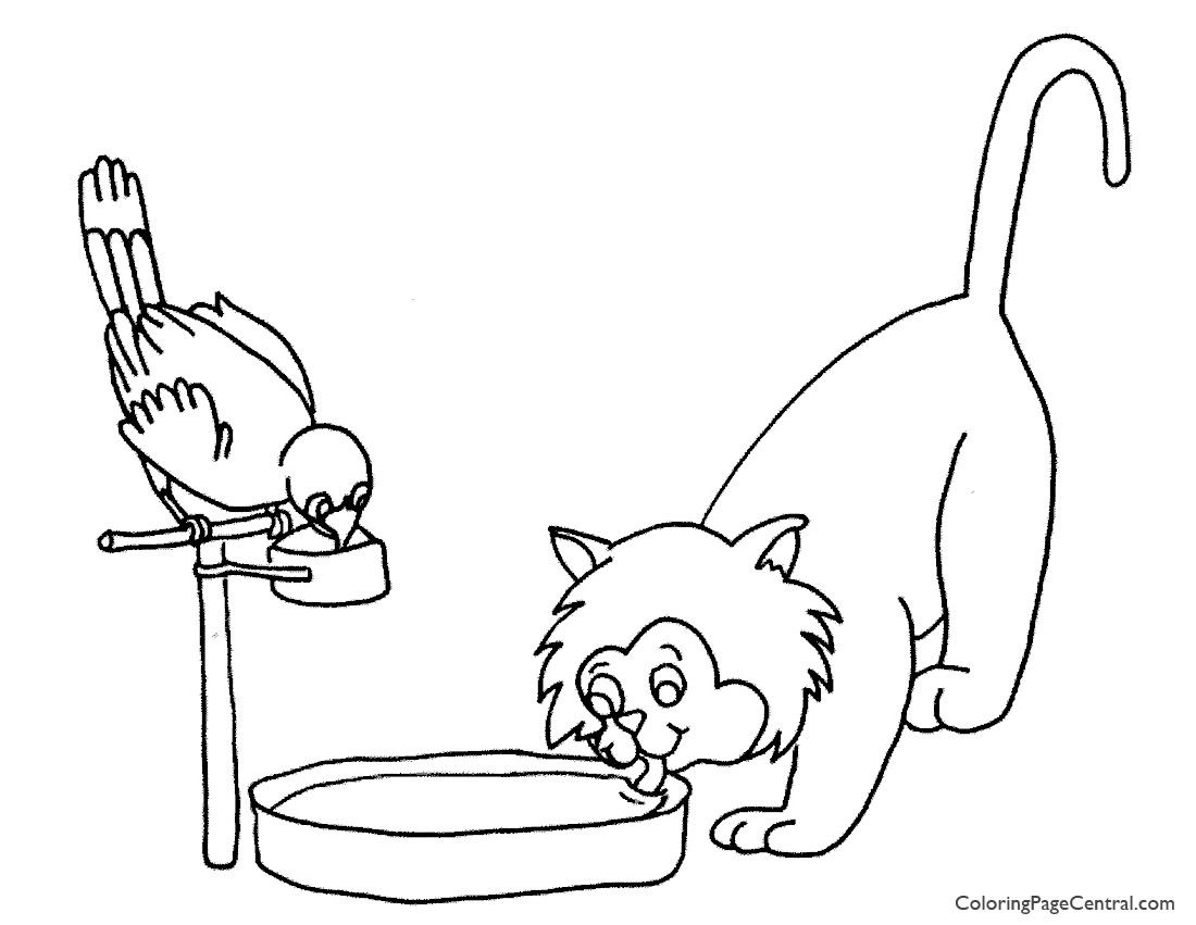 Pets 01 Coloring Page