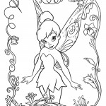 Tinkerbell 01 Coloring Page