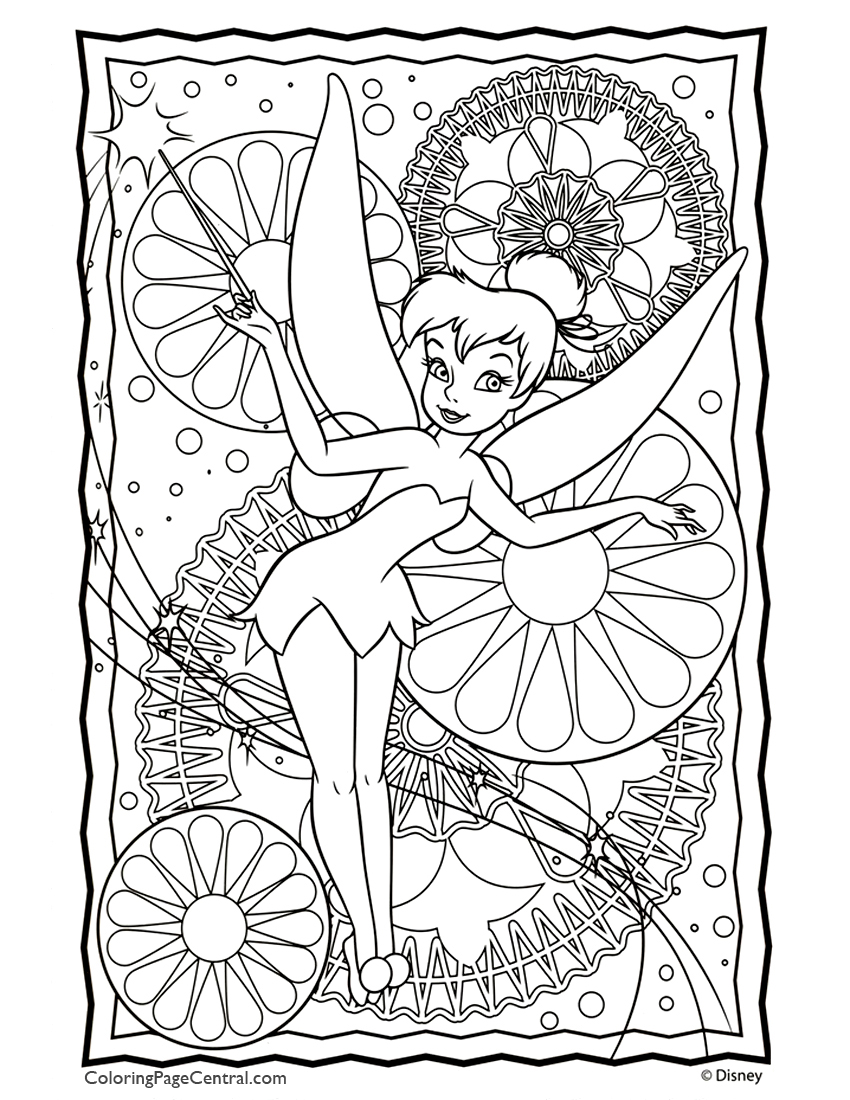 Tinkerbell 05 Coloring Page