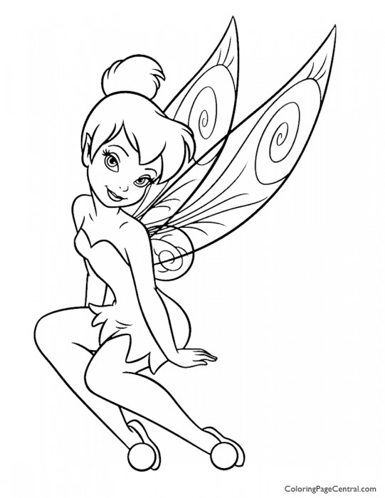 Tinkerbell 07 Coloring Page