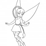 Tinkerbell - Fawn 01 Coloring Page