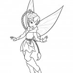 Tinkerbell - Fawn 02 Coloring Page