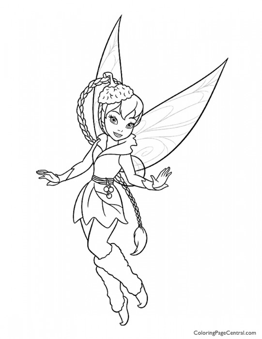 Tinkerbell – Fawn 02 Coloring Page
