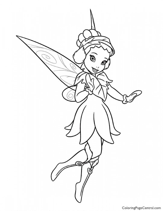 Tinkerbell – Iridessa 02 Coloring Page