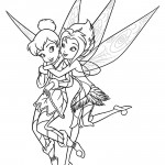 Tinkerbell - Periwinkle 01 Coloring Page