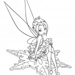 Tinkerbell - Periwinkle 03 Coloring Page