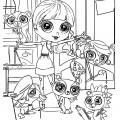 Littlest Pet Shop 02 Coloring Page