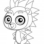 Littlest Pet Shop - Russell Ferguson Coloring Page