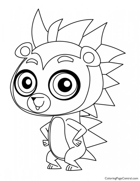 Littlest Pet Shop – Russell Ferguson Coloring Page