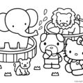 Hello Kitty Coloring Page 16