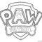 Paw Patrol Coloring Page 01