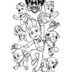 Paw Patrol Coloring Page 02