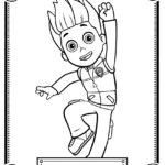 Paw Patrol - Ryder Coloring Page