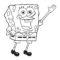 Spongebob Squarepants Coloring Page 01