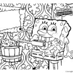 Spongebob Squarepants Coloring Page 02
