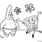 Spongebob Squarepants Coloring Page 05
