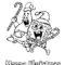 Spongebob Squarepants Coloring Page 06