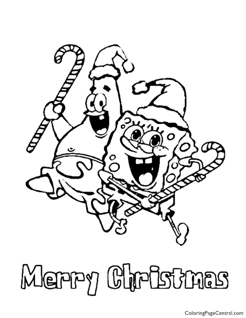 Spongebob Squarepants Coloring Page 06 | Coloring Page Central
