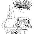 Spongebob Squarepants Coloring Page 08
