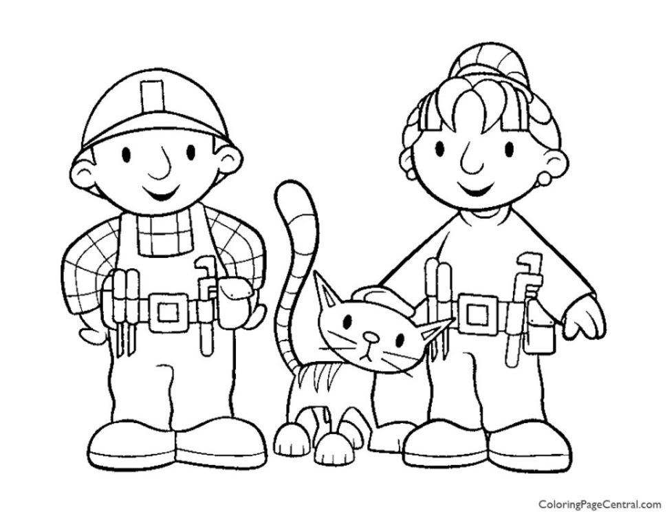 Bob the Builder Coloring Page 03