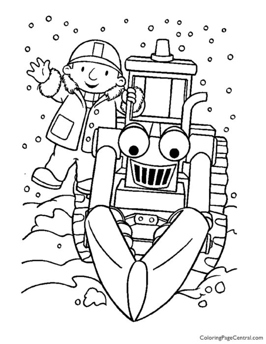Bob the Builder Coloring Page 04