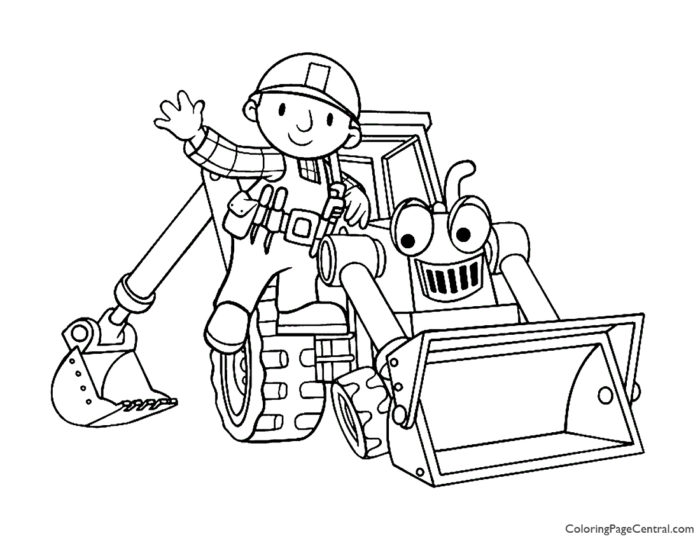 Bob the Builder Coloring Page 07