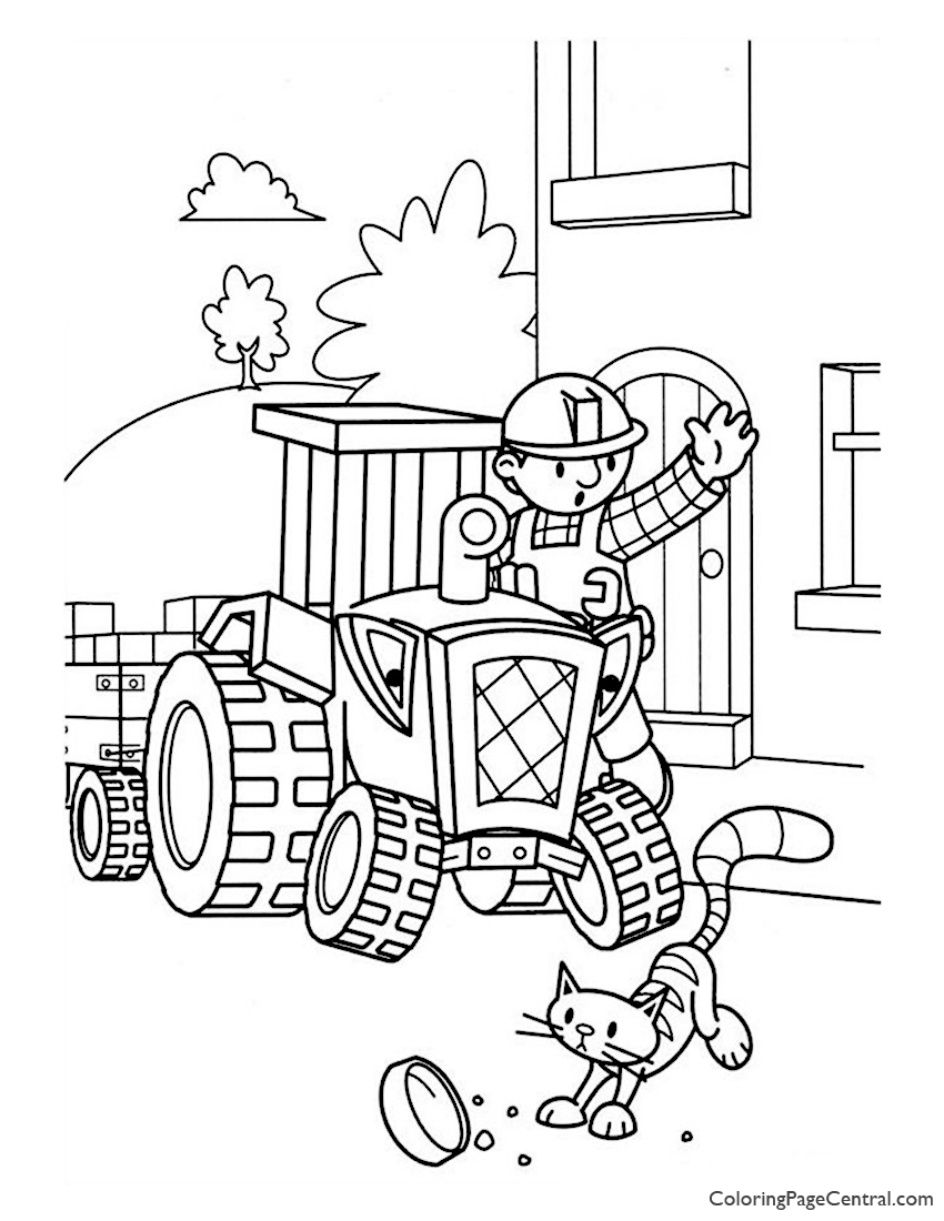 Bob the Builder Coloring Page 08